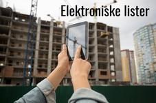 Personalliste på byggeplassen må vere elektronisk